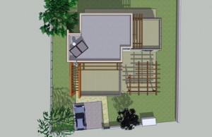 בית משפחת אבני, תוכנית גגות