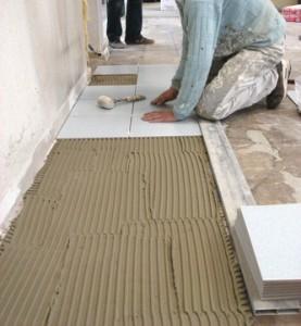 ריצוף רצפה באריחים