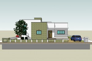 בית משפחת יריב - חזית הרחוב