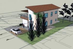בית משפחת כהן, מראה עיצוב אדריכלי