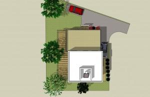 בית משפחת שחר, תוכנית הגגות