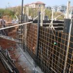 הקמת קירות מרתף