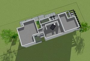 בית משפחת תשובה - תוכנית גגות