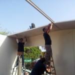 בניית גג דו שיפועי