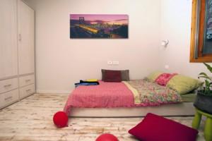 חדר שינה לנערה מתבגרת
