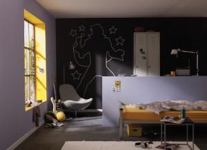 קיר שחור
