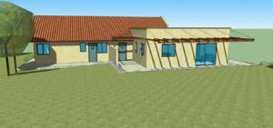 בית משפחת רחמני, בית מגורים בקיבוץ