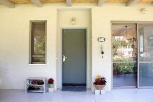בית משפחת עוגן - חזית כניסה