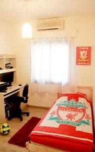 בית משפחת עוגן - חדר שינה לנער
