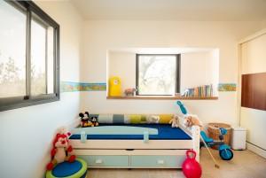 בית משפחת ליטוב - חדר שינה ילדים