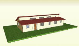 עיצוב בית רכבת בקיבוץ