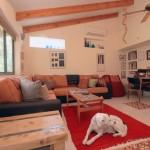 בית משפחת אשד מבט לסלון