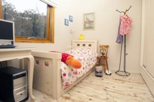עיצוב חדר שינה לילדה קטנה