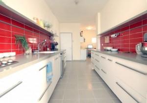 דירת משפחת נוטמן, מבט על מטבח מחודש