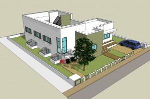 בית משפחת יריב - בית ירוק מבניה קלה