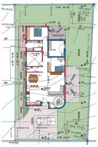 בית משפחת כהן, תוכנית קומת קרקע