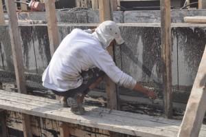 יישור יציקת בטון