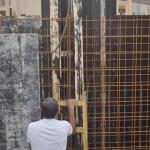בניית תבניות ליציקת קירות