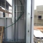 מערכת הקיר ללא חומרי הבידוד והגבס