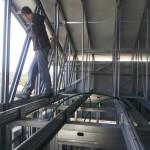 מערכת קונסטרוקציית גג רעפים