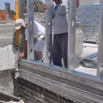 התקנת קירות למערכת בטון