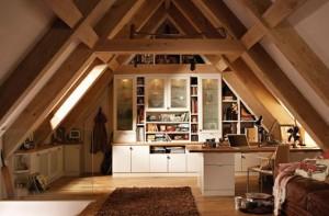 עליית גג בית עץ