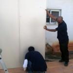 התקנת קירות מעטפת