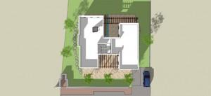 בית משפחת ברק - תוכנית גגות