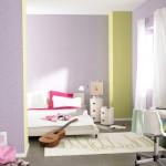 מיטה חדר נוער- צבעים מסביב בהירים ומרגיעים, ומיטה סגנון צעיר במרכז (קרדיט: אתר טמבור)