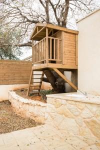 בית עץ בגינה
