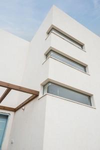 פרט חלונות בגרם מדרגות