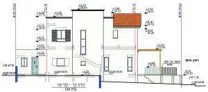 בית משפחת רחום, חזית צידית