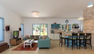 בית משפחת רחמני, רגבים - חלל ציבורי