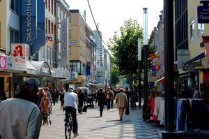 רחוב אירופאי טיפוסי