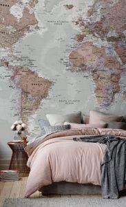 טאפט בחדר שינה