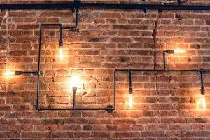 גופי תאורה מצנרת ברזל