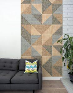 עיצוב ב OSB בסלון