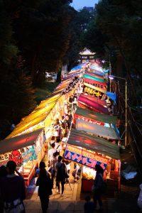 שוק בלילה באסיה