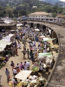 שוק עירוני באפריקה