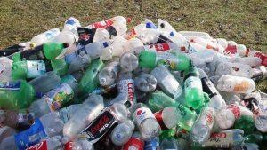 פסולת בקבוקי פלסטיק