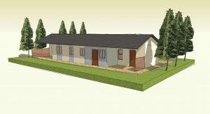 """בית בתכנון מודולרי 100 מ""""ר"""