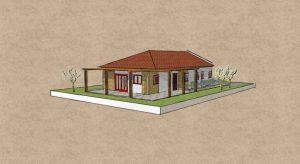בית בתכנון מודולרי