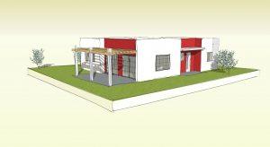 """בית בתכנון מודולרי 130 מ""""ר"""