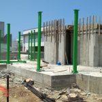התקנת שלד פלדה בניה מתקדמת