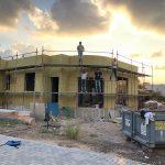 הכנות לטיח בניה מתקדמת