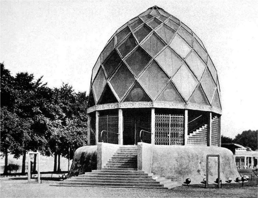 ביתן הזכוכית בקלן 1914