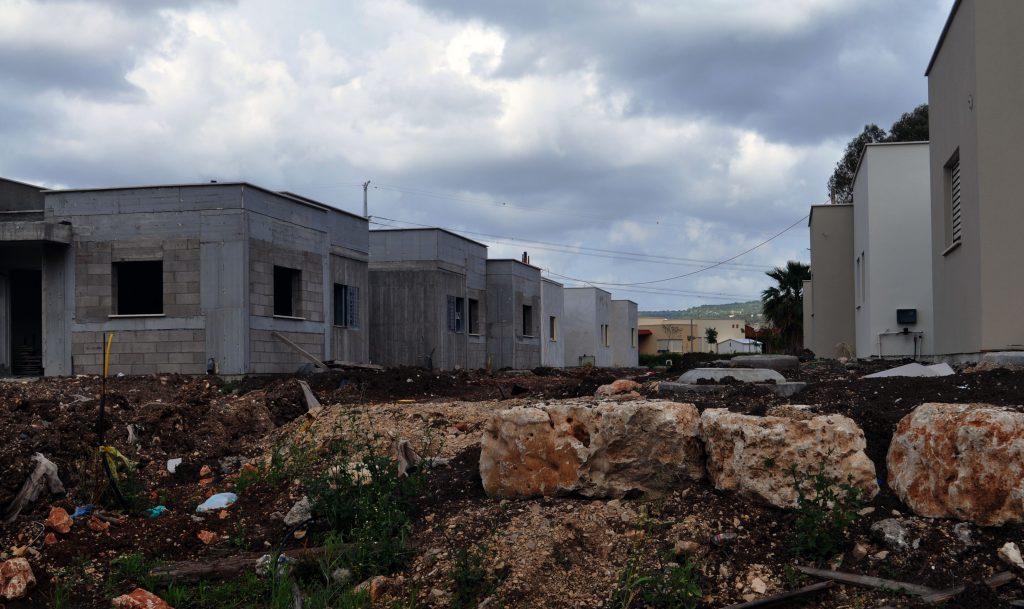 שכונת מגורים בקיבוץ