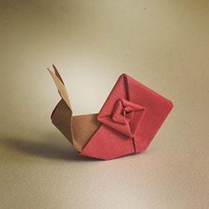 אוריגמי של חילזון