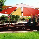 הצללה בפארק ציבורי