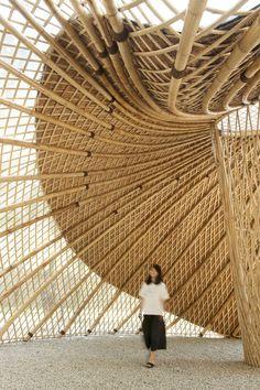 אדריכלות מסורתית מבמבוק